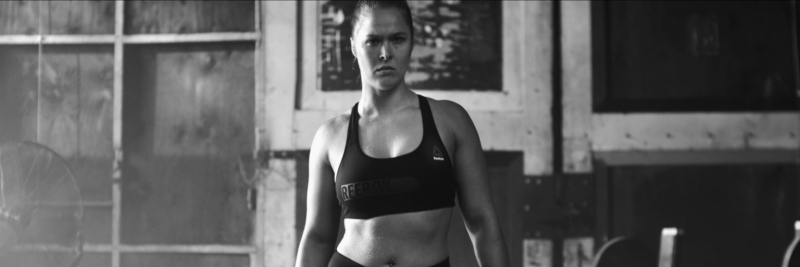 Reebok with Rhonda Rousey